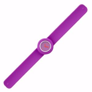 *NWB* Montre Violet Slap Watch